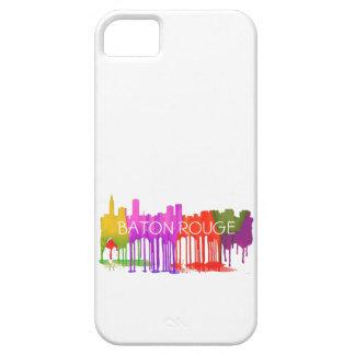 BATON ROUGE SKYLINE PUDDLES - iPhone SE/5/5s CASE