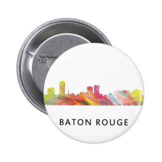 BATON ROUGE SKYLINE WB1 - PINBACK BUTTON