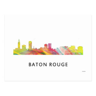 BATON ROUGE SKYLINE WB1 - POSTCARD