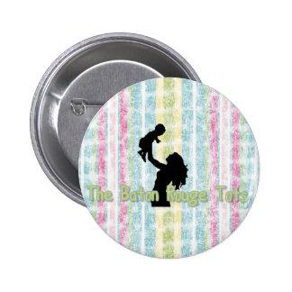 Baton Rouge Tots Pinback Button