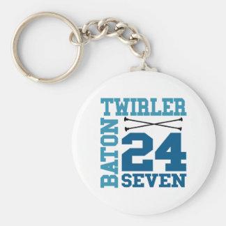 Baton Twirler 24:7 Keychain