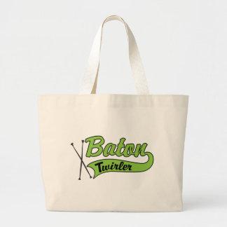 Baton Twirler Tote Bags