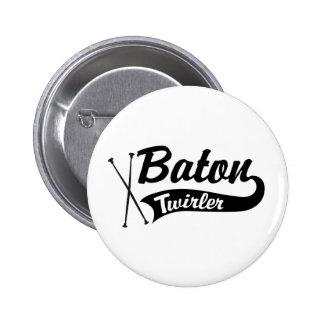 Baton Twirler Pin