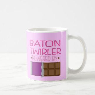 Baton Twirler Chocolate Gift for Woman Coffee Mug