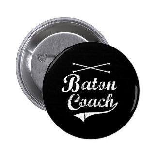 Baton Twirler Coach Button