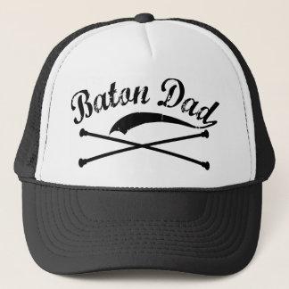 Baton Twirler Dad Trucker Hat