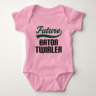 Baton Twirler (Future) Baby Bodysuit