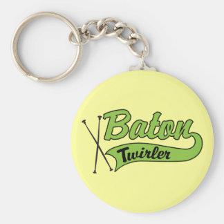Baton Twirler Keychain