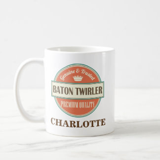 Baton Twirler Personalized Office Mug Gift