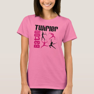 Baton Twirler Square T-Shirt