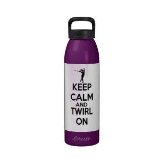 Baton Twirling Water Bottle