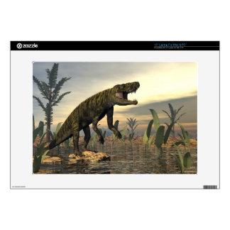 "Batrachotomus dinosaur -3D render 15"" Laptop Skins"