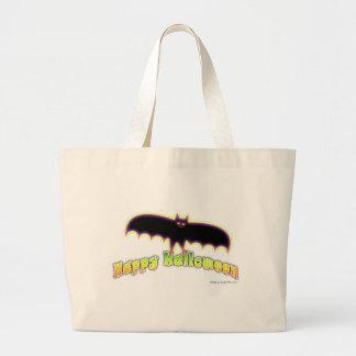 Bats 4 Halloween Art Large Tote Bag