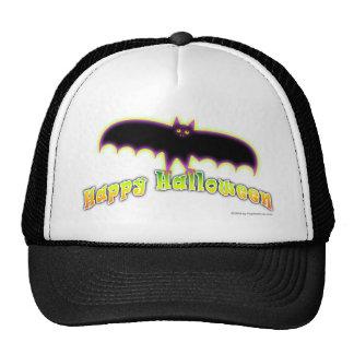 Bats 4 Halloween Art Trucker Hat