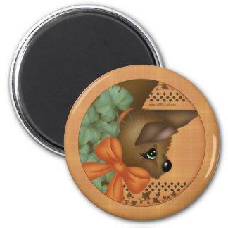 Bats 4 Pumpkin Magnet
