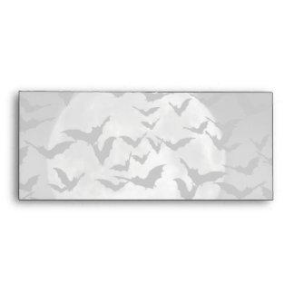 Bats And A Full Moon Envelopes