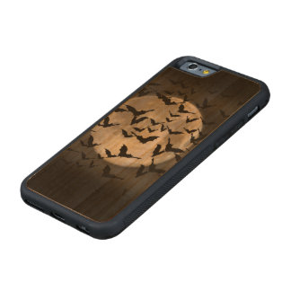 Bats and a Full Moon Carved® Cherry iPhone 6 Bumper Case