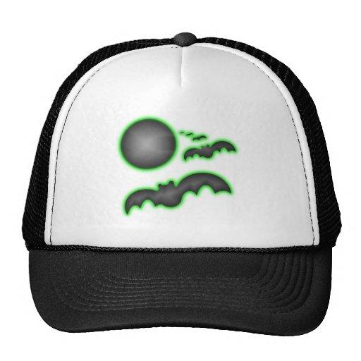 Bats and the Dark Moon Mesh Hat