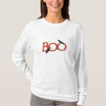 Bats & Big Boo - Halloween T-shirt