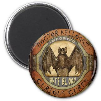Bats Blood 2 Inch Round Magnet