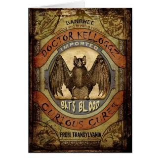 Bats Blood Card