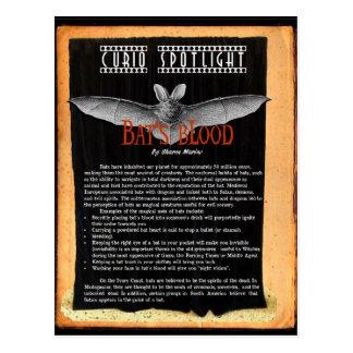 Bat's Blood Postcard