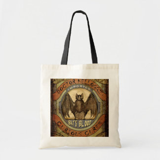 Bats Blood Tote Bag