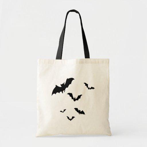 Bats Budget Tote Bag
