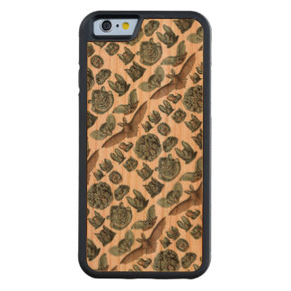 Bats by Ernst Haeckel Carved Cherry iPhone 6 Bumper Case