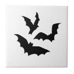 Bats Ceramic Tile