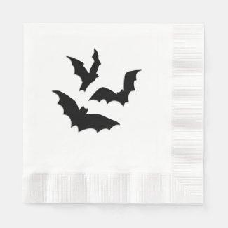 Bats Coined Luncheon Napkin