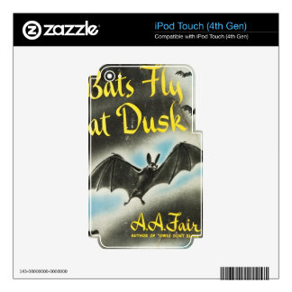 Bats Fly At Dusk iPod Touch 4G Decal