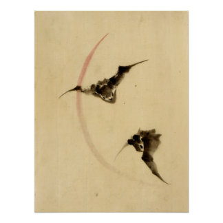 Bats Flying 1840 Posters