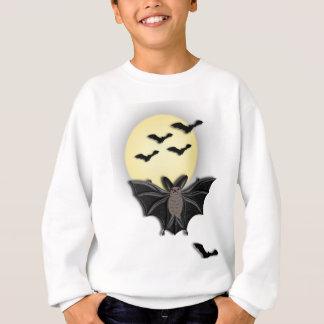 Bats Flying with the Moon Sweatshirt