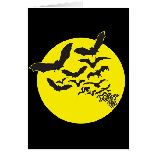Bats Greeting Card