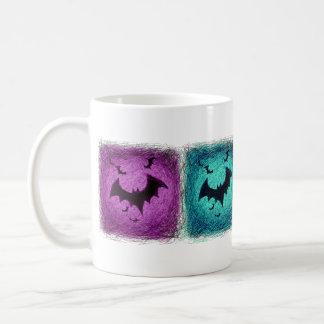 Bats Halloween Mug