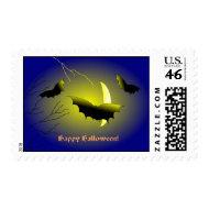 Bats Halloween US Postage stamp