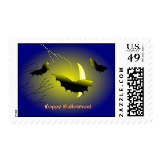 Bats Halloween US Postage