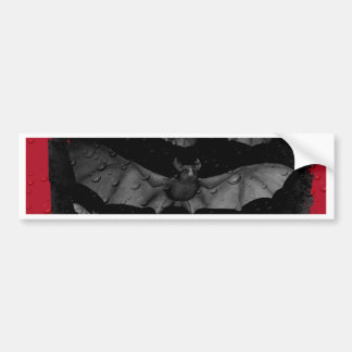 Bats-Happy Halloween.jpg Bumper Sticker