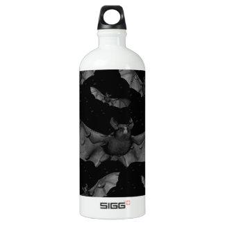 Bats-Happy Halloween.jpg Water Bottle