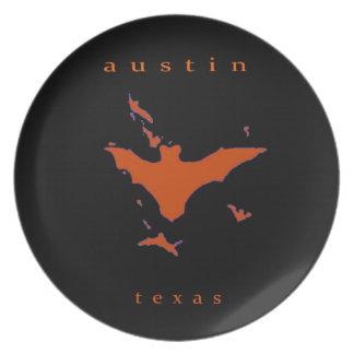 Bats in Austin Dinner Plate