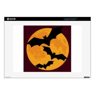Bats In Moon Light Laptop Skin