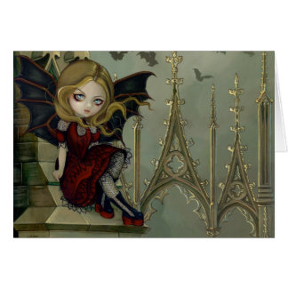 """""""Bats in the Belfry"""" Greeting Card"""