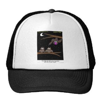 Bats Making Mistakes Funny Halloween Gifts Trucker Hats