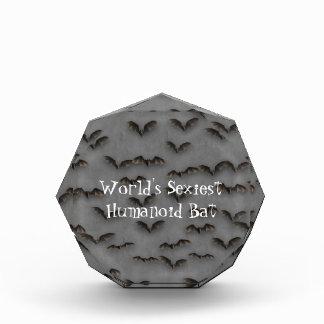 Bats On Metal Acrylic Award