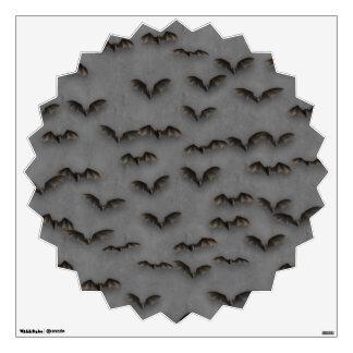 Bats On Metal Wall Decal