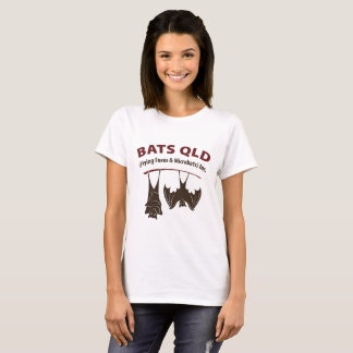 Bats QLD Coloured Womans Basic T-Shirt