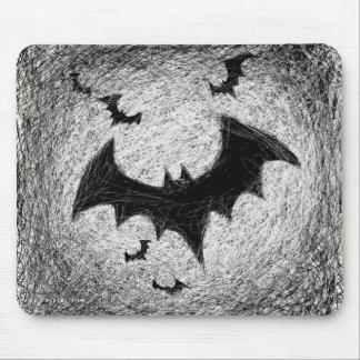 Bats Scratch Mousepad