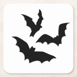 Bats Square Paper Coaster
