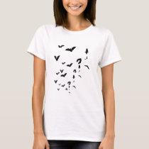 Bats T-shirt Women's Tee Shirt